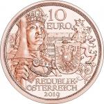 AUSTRIA 10 EURO