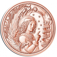 AUSTRIA 10 EURO 2017 - GUARDIAN ANGEL GABRIEL