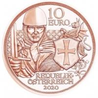AUSTRIA 10 EURO 2020 - BRAVE