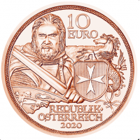 AUSTRIA 10 EURO 2020 - FORTITUDE UNCIRCULATED