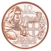 AUSTRIA 10 EURO 2021 - BROTHERHOOD