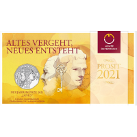 AUSTRIA 5 EURO 2021 - NEW YEAR COIN 2021 JANUS