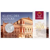 AUSTRIA 5 EURO 2020 - 150 YEARS OF MUSIC SOCIETY