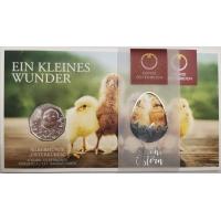 AUSTRIA 5 EURO 2021 - EASTER CHICKEN