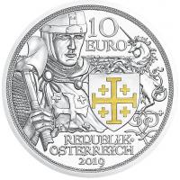AUSTRIA 10 EURO 2019 - ADVENTURE -PROOF