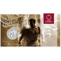 AUSTRIA 10 EURO 2017 - GABRIEL - ANGEL OF THE ANNUNCIATION - SILVER