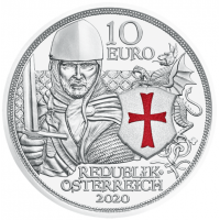 AUSTRIA 10 EURO 2020 - VALOR -PROOF
