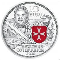 AUSTRIA 10 EURO 2020 - FORTITUDE PROOF
