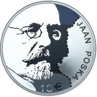 ESTONIA 10 EURO 2016 - JAAN POSKA
