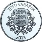 ESTONIA - EURO - SILVER COINS