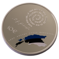 ESTONIA  2018-2 - 10 EURO - 100 YEARS REPUBLIC OF ESTONIA