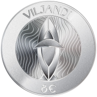 ESTONIA  2019 -8 EURO - HANSEATIC TOWN OF VILJANDI