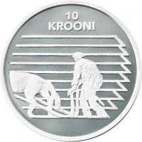 ESTONIA 1998 - 10 KROON - REPUBLIC OF ESTONIA 80