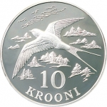 ESTONIA - KROONI - SILVER COINS