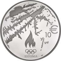 ESTONIA 10 EURO 2014 - SOCHI OLYMPIC