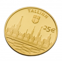 ESTONIA 2017 - 25 EURO - HANSEATIC CITY OF TALLINN
