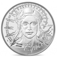 FRANCE 20 EURO 2018 - MARIANNE - EQUALITY