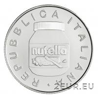 ITALY 2021 5 EURO - NUTELLA - WHITE