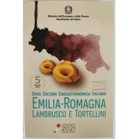 ITALY 5 EURO 2021 - Emilia-Romagna - Lambrusco and Tortellini