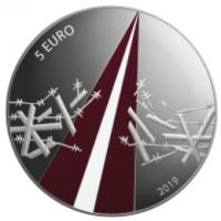 LATVIA 5 EURO 2019/3 - FREEDOM FIGHTS (1918-1920)