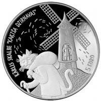 LATVIA 5 EURO 2019 - CAT'S MILL
