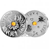 LITHUANIA 5 EURO 2021 - Sea Festival
