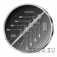 LITHUANIA 20 EURO 2021 - XXXII Olympic Games in Tokyo