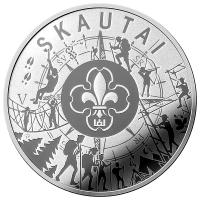 LITHUANIA 5 EURO 2019 - SCOUTS