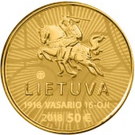 LITHUANIA GOLD COINS