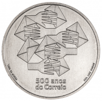 PORTUGAL 5 EURO 2020 - 500 YEARS OF PORTUGUESE POST OFFICE