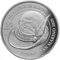 SAN MARINO 10 EURO 2020 - ALPINI