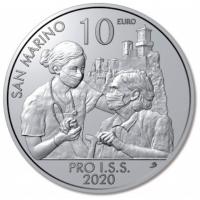 SAN MARINO 10 EURO 2020 - PRO I.S.S.