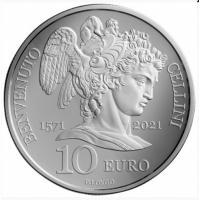 SAN MARINO 10 EURO 2021 - 450th Anniversary of the Death of Benvenuto Cellini