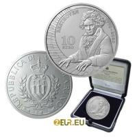 SAN MARINO 10 EURO 2020 - 250TH ANNIVERSARY OF THE BIRTH OF LUDWIG VAN BEETHOVEN