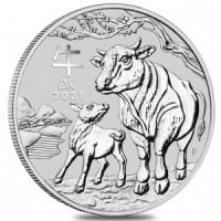 AUSTRALIA 1 DOLLAR 2021 - YEAR OF THE BULL