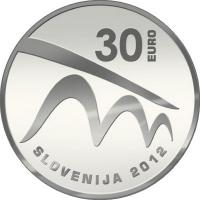 SLOVENIA 30 EURO 2012 - EUROPEAN CAPITAL OF CULTURE – MARIBOR