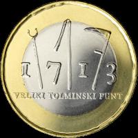 SLOVENIA 3 EURO 2013 - 300H ANNIVERSARY OF THE TOLMIN PEASANT REVOLT PROOF