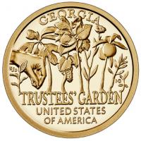 USA 1 Dollar 2019-D - Georgia