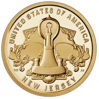 USA 1 Dollar 2019-D - New Jersey