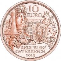 AUSTRIA 10 EURO 2019 - CHIVALRY