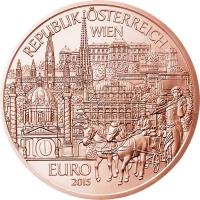 AUSTRIA 10 EURO 2015 - WIEN