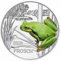 AUSTRIA 3 EURO 2018-4 - FROG