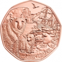 AUSTRIA 5 EURO 2014 - ARCTIC ADVENTURES