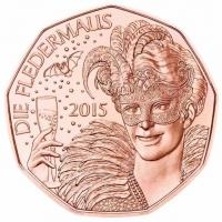 AUSTRIA 5 EURO 2015 - THE BAT