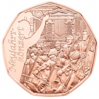 AUSTRIA 5 EURO 2016 - CONCERT OF THE NEW YEAR