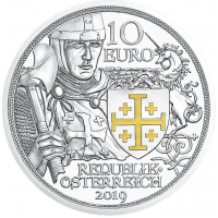 AUSTRIA 10 EURO 2019 - ADVENTURE -SILVER