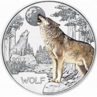 AUSTRIA 3 EURO 2017 - WOLF