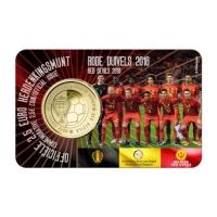 BELGIUM 2.5 EURO 2018 - RED DEVIL