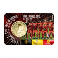 BELGIUM 2.5 EURO 2018 - RED DEVIL