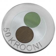 ESTONIA 50 KROONI 2010 - THE ESTONIAN NATURE